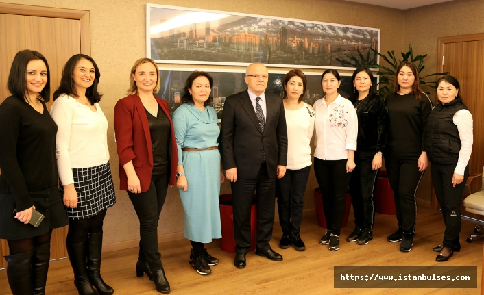 Kazakistanlı iş kadınları Ataşehir'de