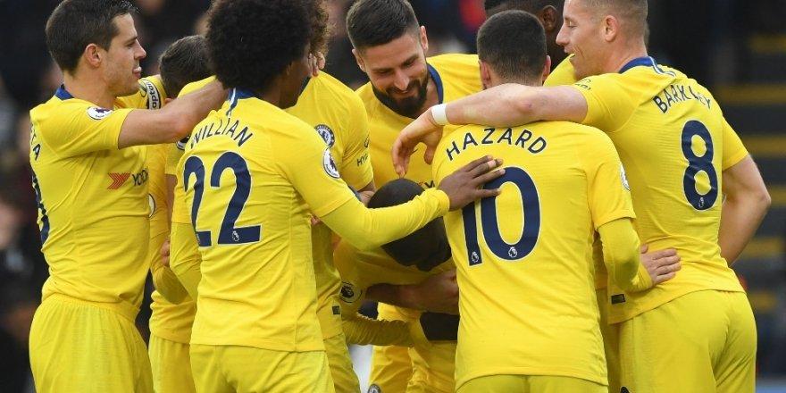 Chelsea, Crystal Palace'ı deplasmanda tek golle geçti