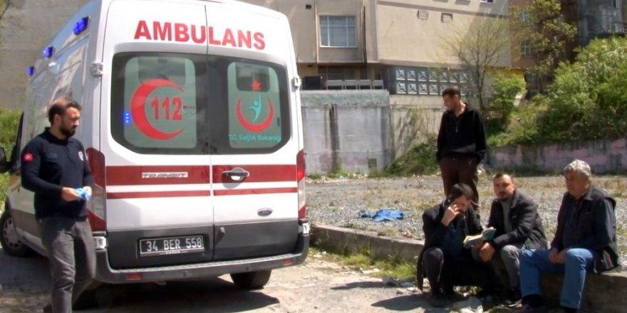 Arnavutköy'de metruk bir binada  şüpheli ölüm