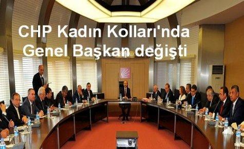 CHP Kadın Kolları Başkanı görevden alındı