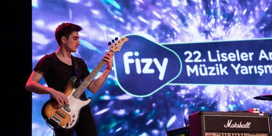 fizy 22'nci Liseler Arası Müzik Yarışması sona eriyor