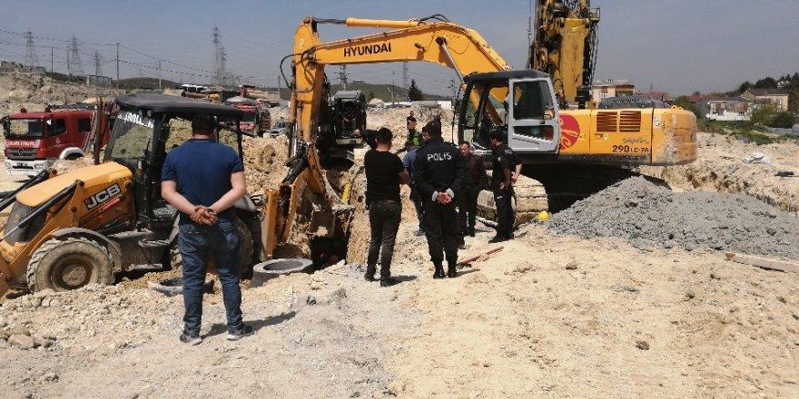 Okul inşaatındaki göçük altında kalan işçi hayatını kaybetti