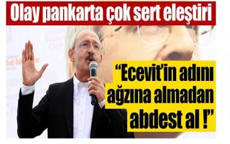 """""""Ecevit'in adını ağzını almadan.."""""""