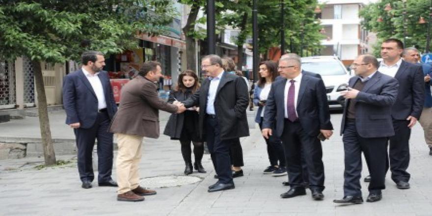 Başkan Deniz Köken, Yeşilpınar'da incelemelerde bulundu