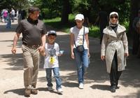 Davutoğlu ve ailesi tatilde