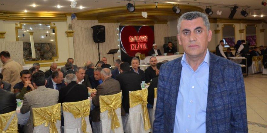 Dernek başkanı, Özcan Aslan iftar programı düzenledi