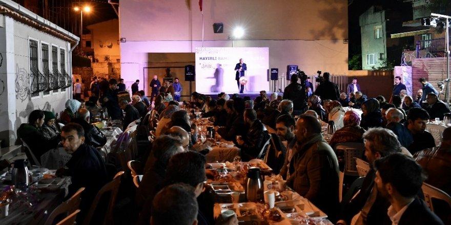Fatih'te sokak sahuru geleneği sürüyor