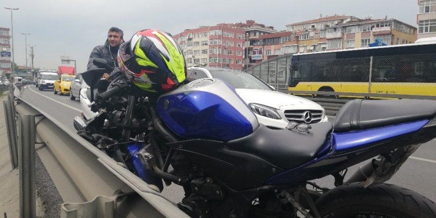 E-5 Feci Motosiklet Kazas:1 Ölü