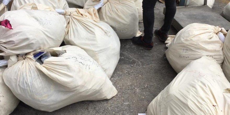 10 Ton Uyuşturucu Fabrika Kazanında İmha Edildi