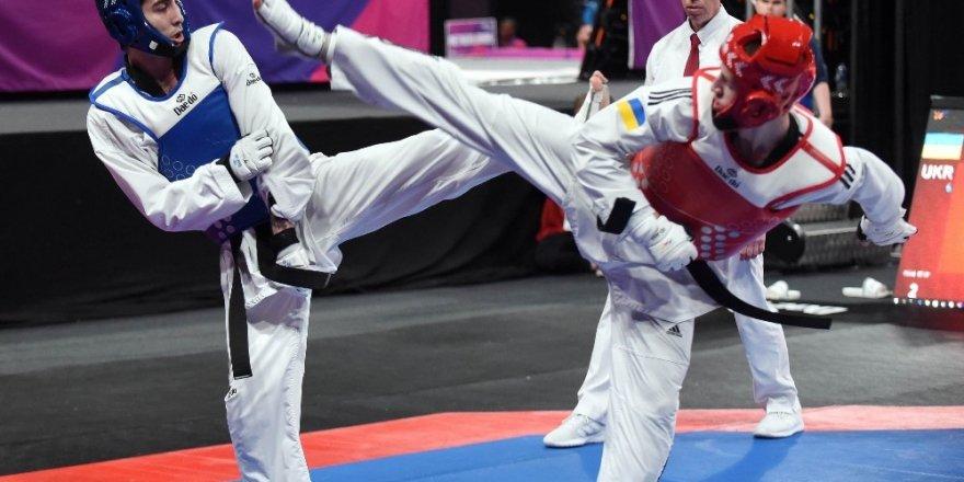 Milli taekwondocular ikinci günü madalyasız geçti