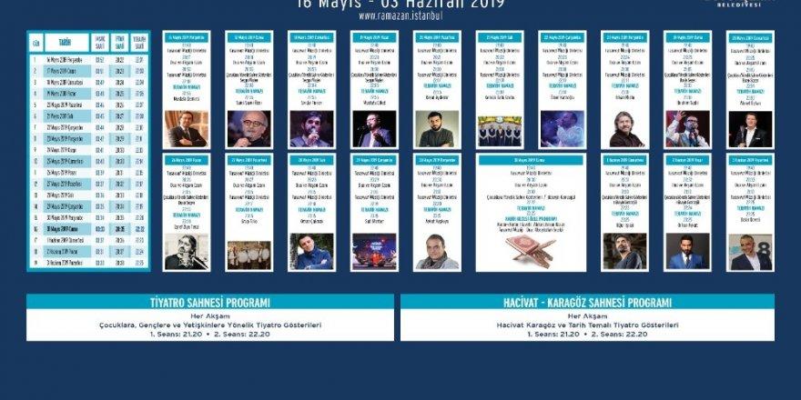 İBB Ramazan etkinlikleri başladı
