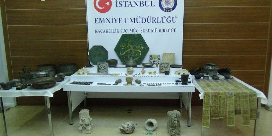 İstanbul'da tarihi eser kaçakçılığı operasyonları: 7 gözaltı