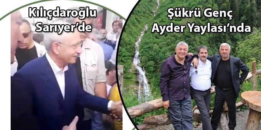 Kılıçdaroğlu Sarıyer'de, Şükrü Genç Ayder Yaylası'nda