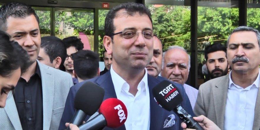 """Ekrem İmamoğlu: """"Demokrasi için Çok Mutluyum"""""""