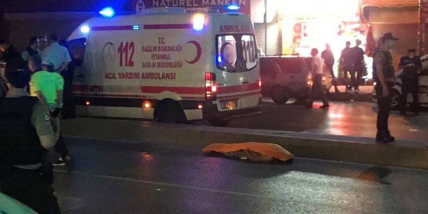 Beyoğlu'nda trafik kazası; 1 ölü