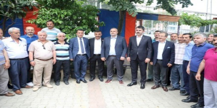 Bakan Murat Kurum'dan Pirinççi, Sakarya, Silahtarağa ve Karadolap'a müjde
