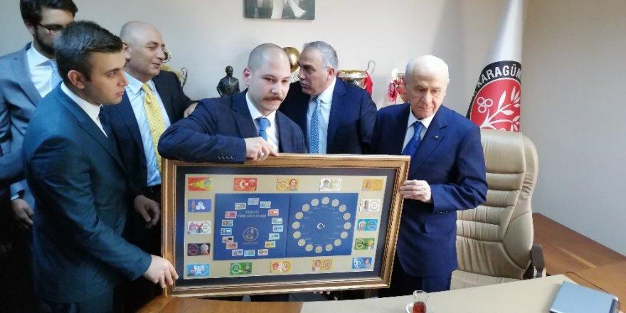 MHP Genel Başkanı Devlet Bahçeli, Karagümrük Spor Kulübü'nü ziyaret etti