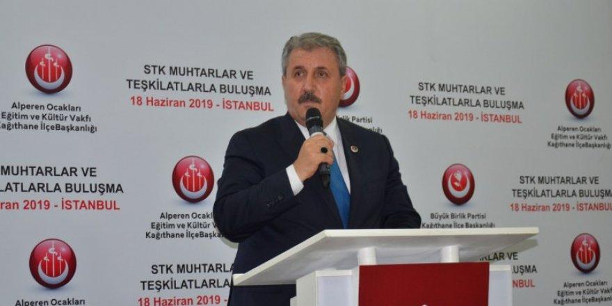 """Mustafa Destici, """"Cumhur İttifakı'nın zaferiyle seçimin sonuçlanacağına inanıyorum"""""""