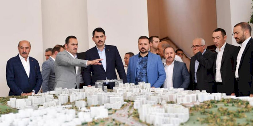 Bakan Kurum'dan Beyoğlu'nda Dönüşüm Müjdesi