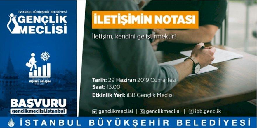 'İLETİŞİMİN NOTASI' ETKİNLİĞİ