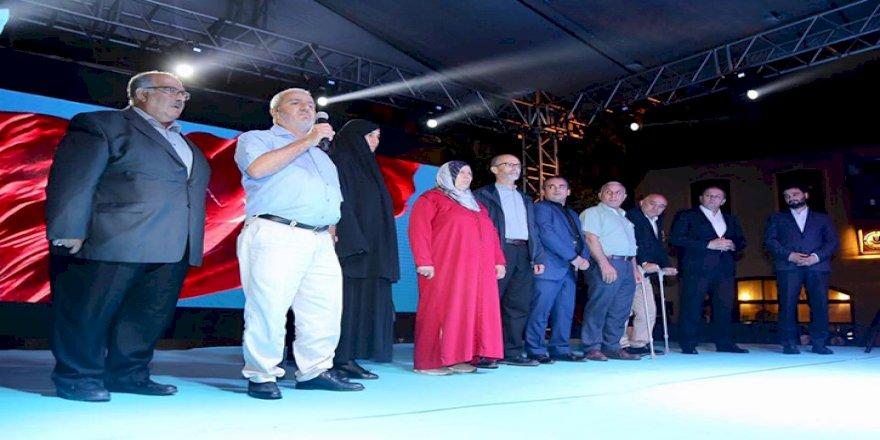 KAĞITHANE'DE ŞEHİTLER DUALARLA ANILDI