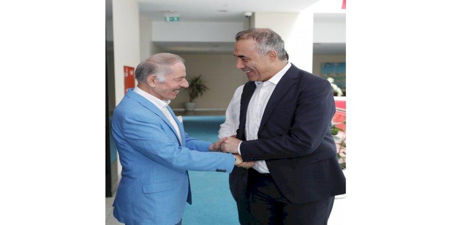 Bayrampaşa Belediye Başkanı Aydıner, Başkan Dursun'u Ziyaret Etti