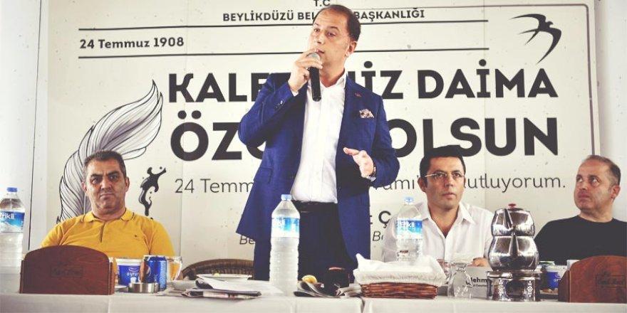 """""""BASININ ÖZGÜR OLMADIĞI ÜLKELERDE DEMOKRASİDEN SÖZ EDİLEMEZ"""""""