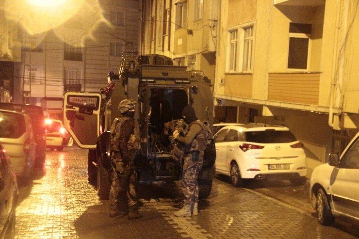 İstanbul'da uyuşturucu tacirlerine narkotik operasyonu