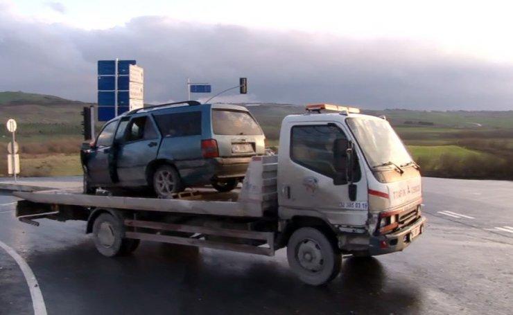 Arnavutköy'de trafik kazası
