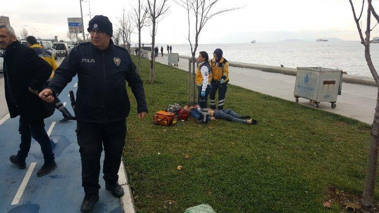 Zeytinburnu Sahili'nde bıçaklanan kişi hayatını kaybetti