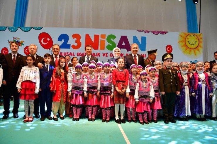 İstanbul'da çocuk bayramı kutlamaları renkli görüntülere sahne oldu
