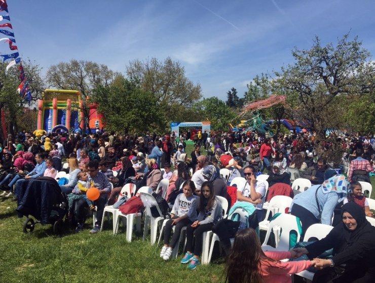 Validebağ Korusu'nda coşkulu 23 Nisan kutlaması