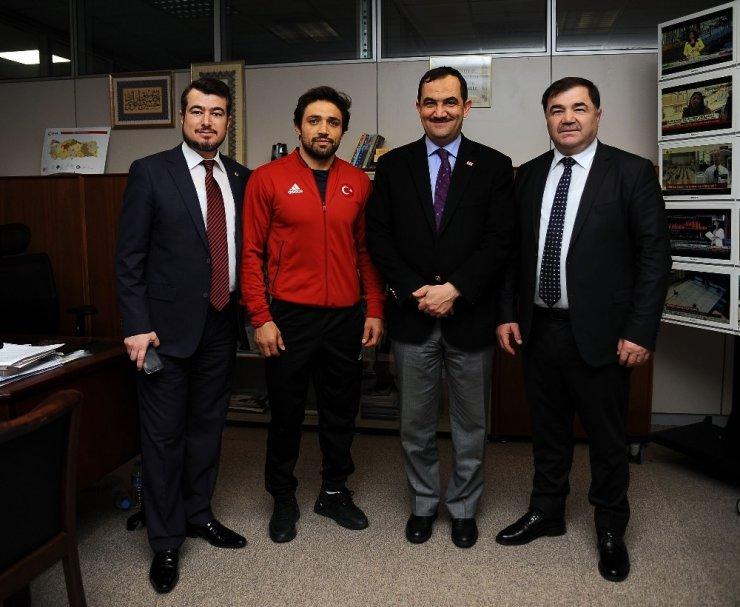"""Musa Aydın: """"Hedefimiz 18 sıkletin 18'inde de olimpiyat vizesi almak"""""""