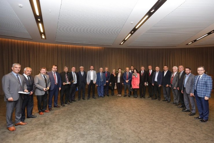 Başkan Çebi, muhtarlarla istişare toplantısı yaptı