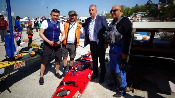 İstanbul'dan Samsun'a kano ile yolculuk