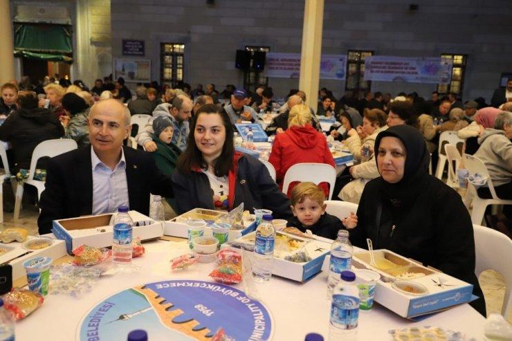 Büyükçekmeceliler iftar sofrasında bir araya geldi
