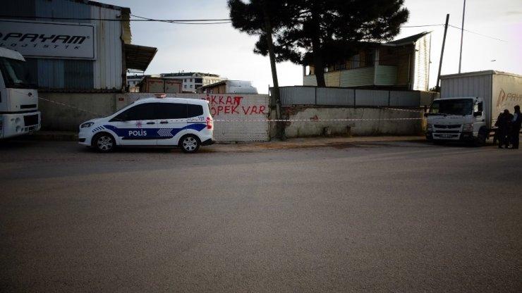 Tuzla'da tır şoförünün feci ölümü