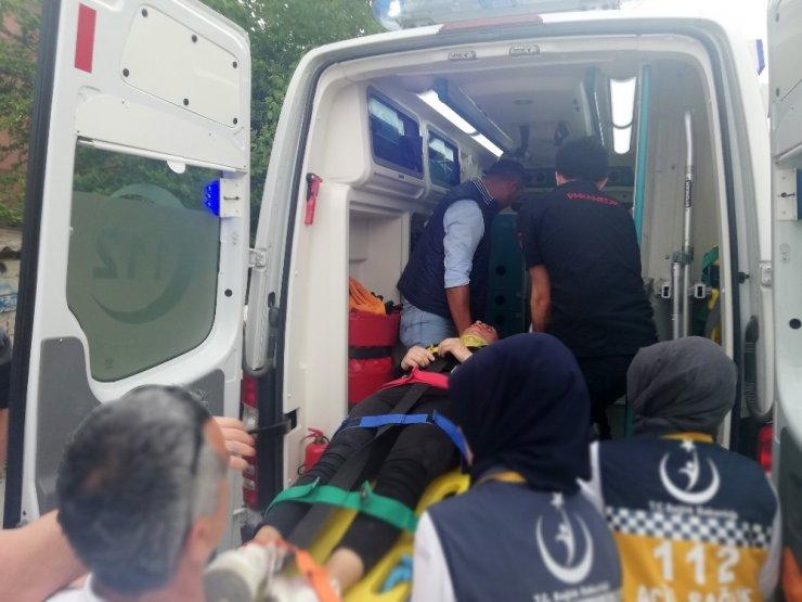 Drift Terörü 7 Lise Öğrencisini Yaraladı