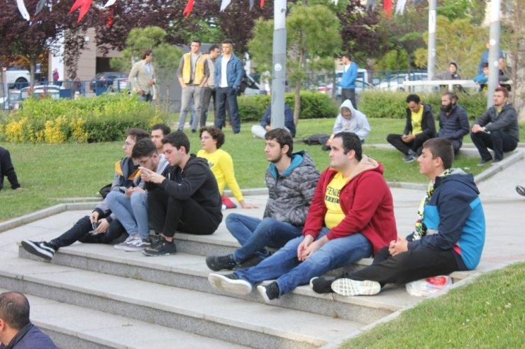 Final Four'da için İstanbul'da dev ekran kuruldu