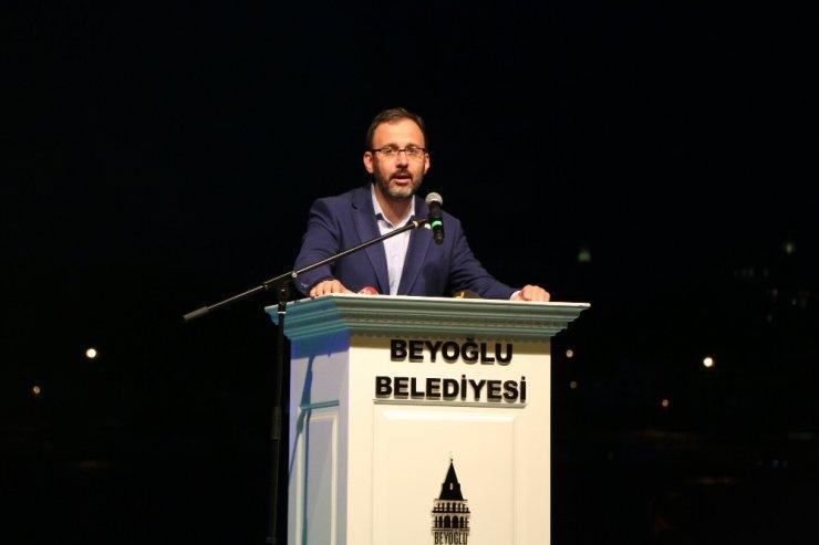 Karaköy Rıhtımı'nda İftar