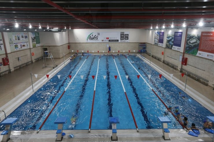 Engelli vatandaşlara havuz hizmeti