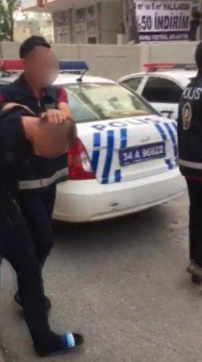 Çekmeköy'de vahşi cinayetin Özbek faili yakalandı
