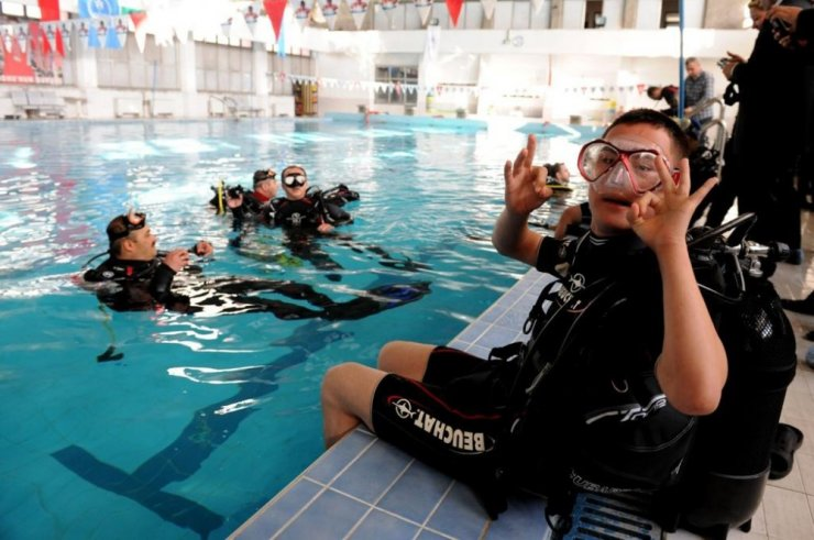 Türkiye'nin İlk Engelli Dalıcı Dalış Eğitim Merkezi