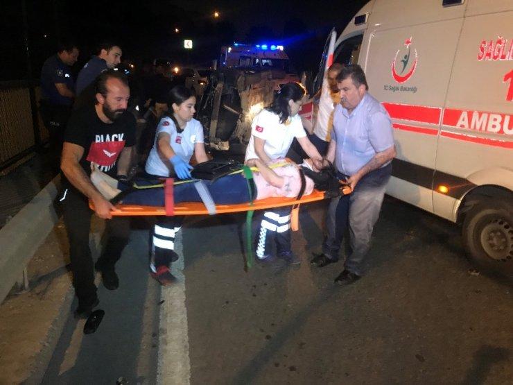 Küçükçekmece'de Trafik Kazası