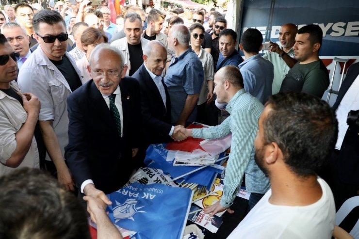 CHP Lideri Kılıçdaroğlu Büyükçekmecelilerle buluştu
