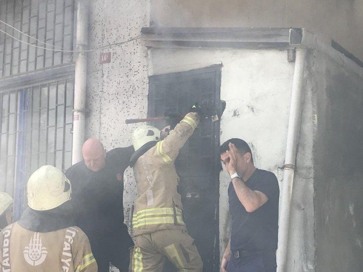 Kağıthane'de korkutan yangın