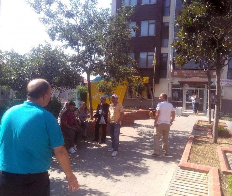 Kağıthane'de PTT şubesinde silahlı soygun