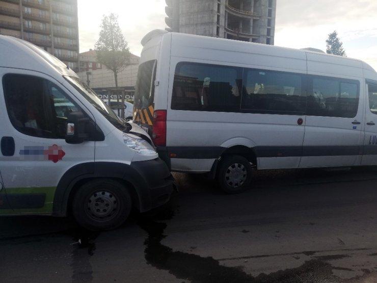 Esenyurt'ta zincirleme trafik kazası
