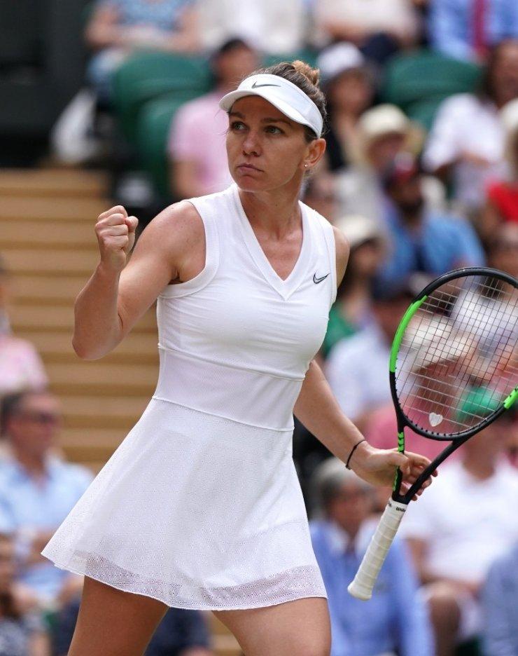 Wimbledon'da şampiyon Simona Halep