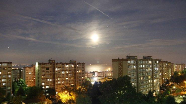 İstanbul'da görüntülendi